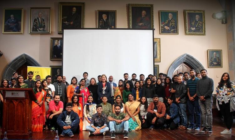 UCC Indian Alumni Community and guests at Spandan 2019